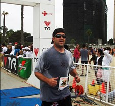 Chris Jensen Finishes The LB Triathlon