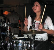 1022 Yumi on drums