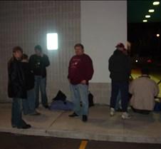 AAron. Patty, Rhiannon, Mark in line Fri