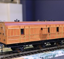 Teak Coach (Real Wood)  By Pete Comley