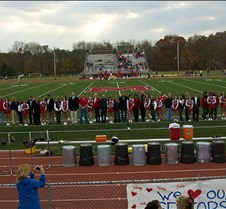 Mendham Cheerleader Seniors and Parents 2008