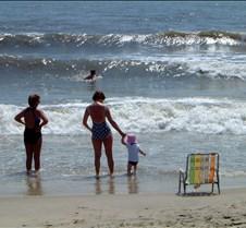 Caitlin and Kathy on Beach