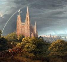 Medieval City on River-1815-Karl Schinke