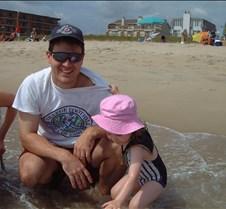 Caitlin and Brad on Beach 2