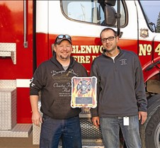 GFD 20 year plaque for Cory Logan NEW