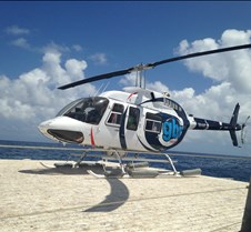 Helicopter Tour of Barrier Reef