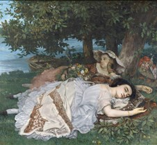 Young Ladies on the Banks of the Seine-G