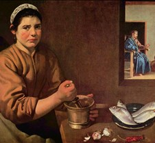 Christ in the House of Martha and Mary -