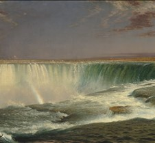 Horseshoe Falls - Frederic Edwin Church