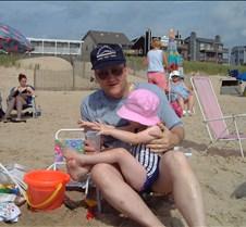 Caitlin and Bob on Beach 2