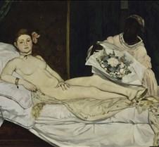 Olympia - Edouard Manet - 1863
