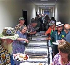 Saturday Night BBQ Buffett Line
