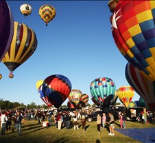 Balloons Start To Rise