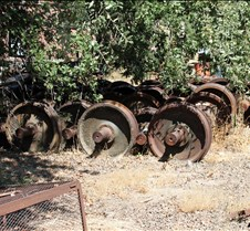 Extra Railway Wheels & Axels