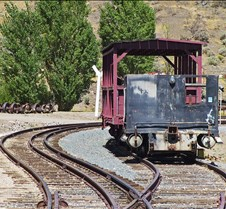 Nevada State RR Museum Dual Gauge Track