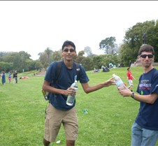 Water Bottle Handoff