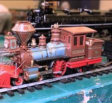 C P Huntington 4-2-4 Live Steam Loco