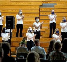 Varsity choir sopranos