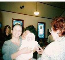 Evelyn's Christening 2002