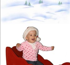 Mati happy n snow