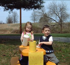 Caitlin and Connor lemonade stand 200104