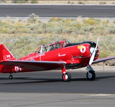 #64 Red Night  North American Harvard IV