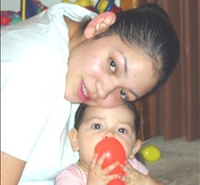 Mommy & Angel April 2002