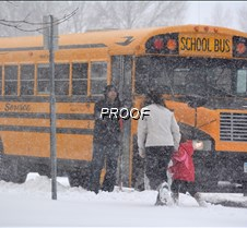 school closing buses