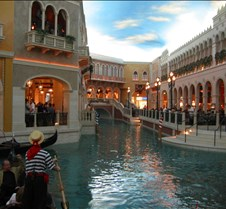 The canal in The Venitian