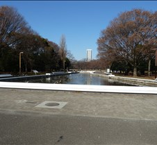 Fountain in Yoyogi Koen