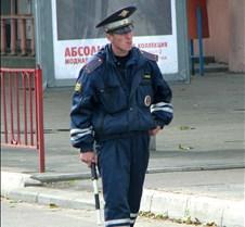Russian Traffic Cop