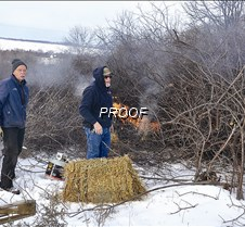 burning buckthorn-top hill