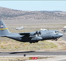 C-130 Hercules with Parachute Jumpers
