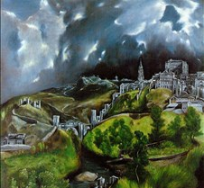 View of Toledo - El Greco - 1596–1600 -