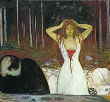 Ashes-Edvard Munch-1894-National Gallery