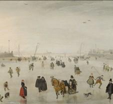 A Scene on the Ice - Avercamp - 1625 - N