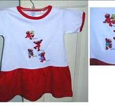 Abrie's Elmo dress