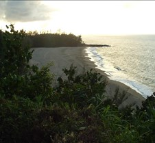 Lumahai Beach near sunset
