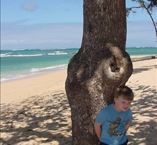 Grant at a North Shore Beach