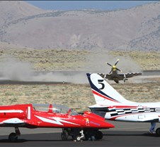 Thunder Mustang #75 Air Race Crash 450a
