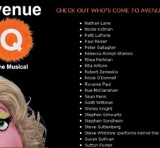 Who Has Come to Avenue Q