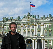 Matt In Front Of The Winter Palace