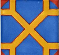 Unique 6x6 Blue Octagon