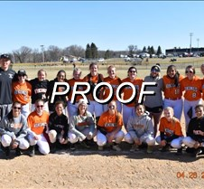 softball team shot