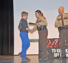 Deputy Grace handshake
