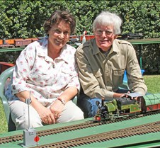 Eric & Marie Strauss With His Darjeeling