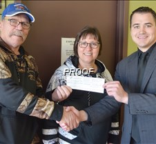 PF chapter donates