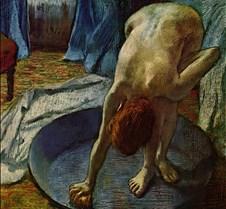 Woman in the Bath – Edgar Degas – 1886 –