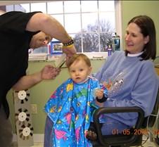Logan%27s+First+Haircut