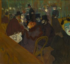At the Moulin Rouge - Henri de Toulouse-